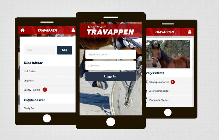 Travappen webbyrå Örebro Appdesign